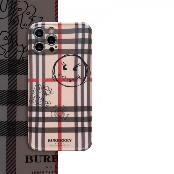 Burberry iPhone 13 case designerFashion iphone13/12/11 pro max xr/xs max Brand Full Cover Protectiveiphone se2 cover shelliphone case cute women