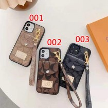 Coa-ch Card Wallet Case For iPhone 13 12 11pro XR XS Max 8Plus women fashion couple iphone 13 pro max shell