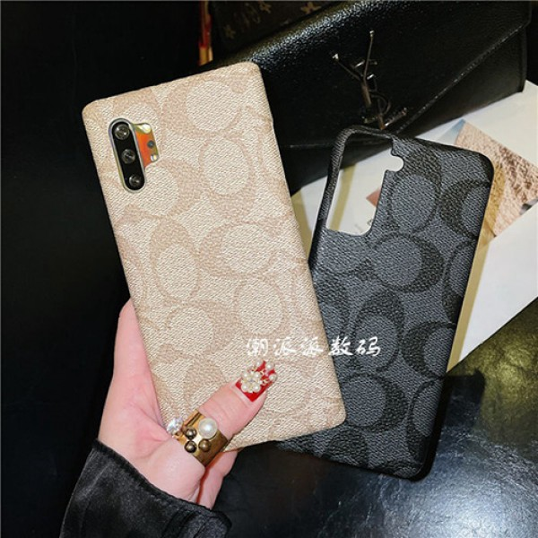 coach Samsung Galaxy S21 Note 21 plus ultra Case Cover iphone 13 12 pro max 11 se2 xr/xs case brand luxury