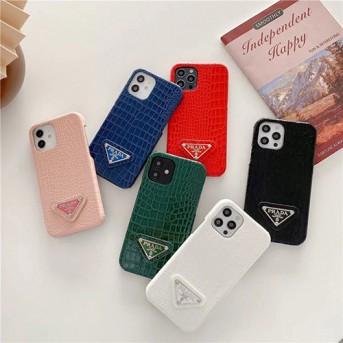 Designer iPhone Case iphone13 galaxy s21 Prada Style Leather Shockproof Protective  For iPhone 13 12 SE2 11 Pro Max X XS Max XR 7 8 Plus