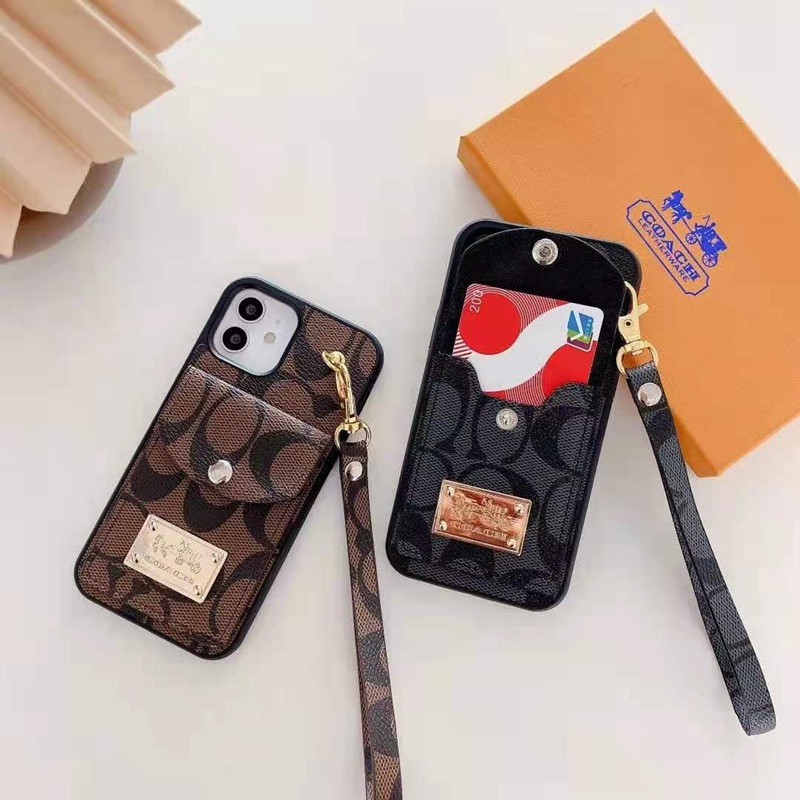 Coa-ch Card Wallet Case For iPhone 13 12 11pro